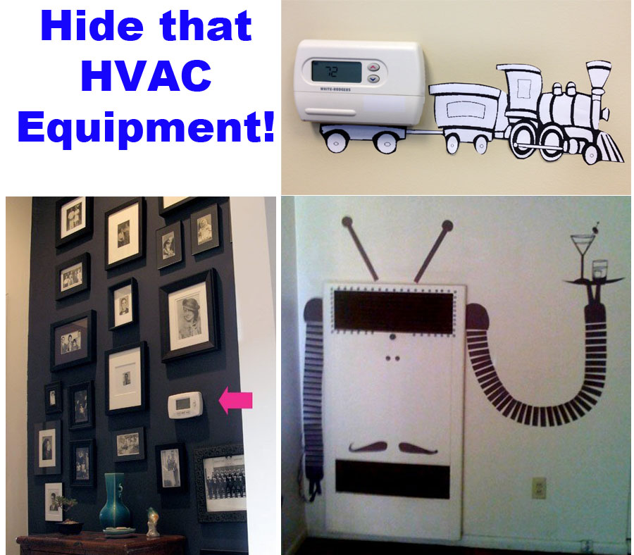Hide that HVAC Equipment!